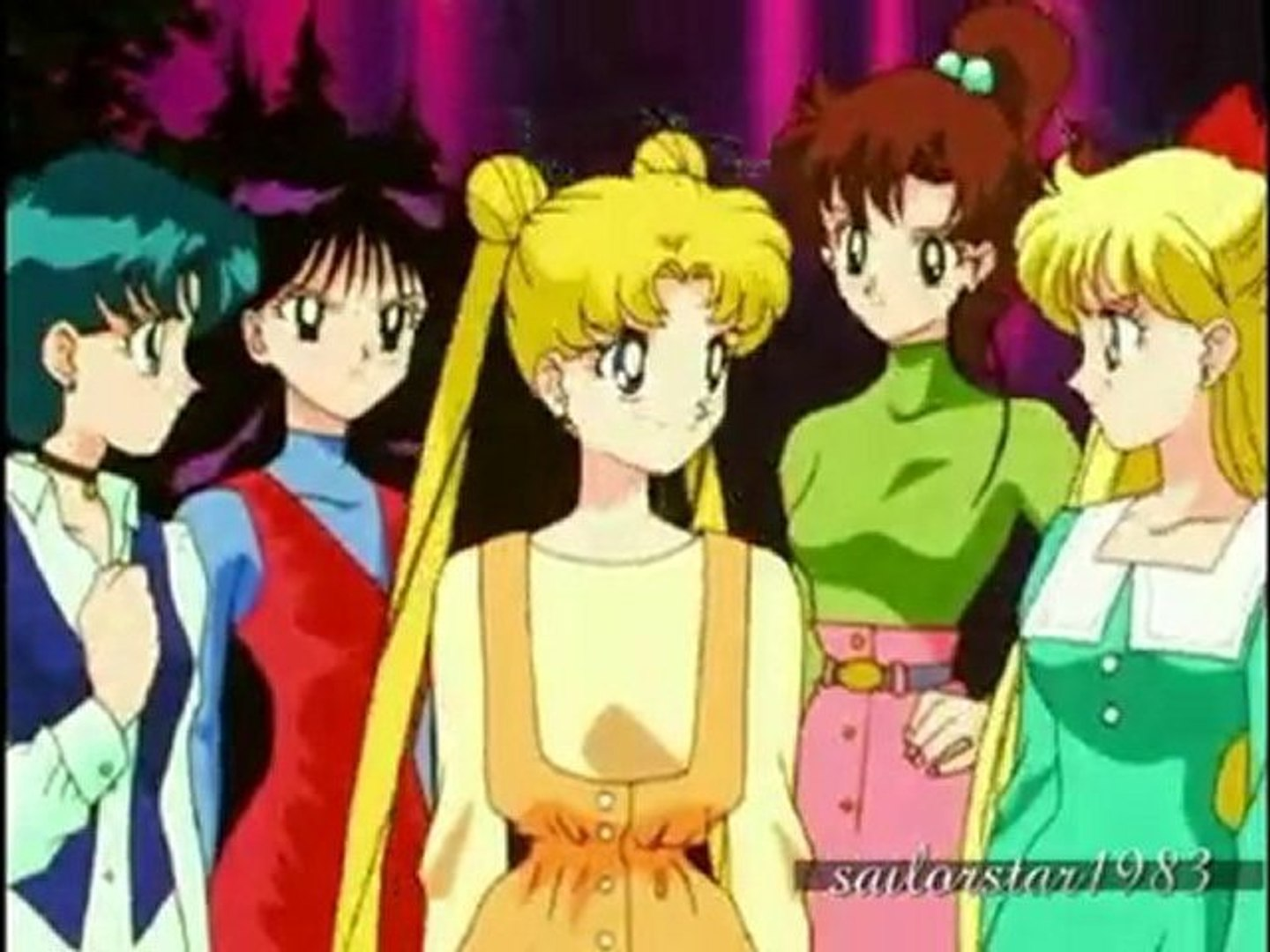 Sailor Stars Inners Group Henshin Special FX HD
