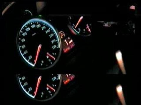 BMW M6 Reaching 340kmh