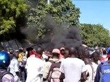 Guérilla urbaine à Port-au-Prince contre les Casques bleus