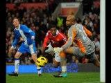 Manchester United 2-0 Wigan: Evra, Hernandez header,