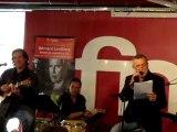 """Bernard Lavilliers : extrait de la chanson """" l' exil� """"  show case   fnac paris montparnasse 20.11.2010"""