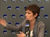 Chantal Jouanno à Stade Bleu avec Jacques Vendroux