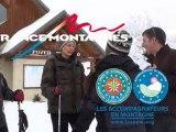 Raquette à Neige dans les montagnes françaises (3)