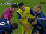 Samuel Etoo coup tete Zidane sur poitrine