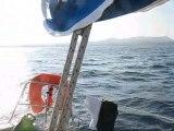 navigation voilier vers les iles