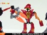 LEGO Hero Factory Heros Review : LEGO 7164 - 7170