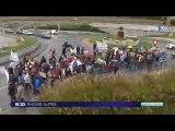 Manifestation contre l'intensification du fret ferroviaire