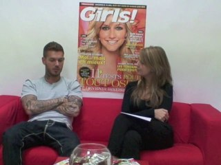 M Pokora en video pour girls.fr !