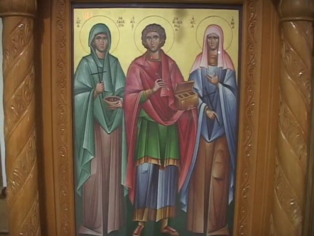 Sts. PANTELEIMON, ANNA & PARASKEVI