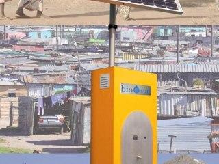 BIO-SUN, la borne d'eau potable photovoltaïque sur Europe1