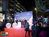 Mélanie Laurent illumine les Champs-Élysées