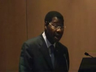 M. Boni YAYI Allocution au colloque du FFA.