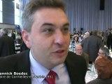 UMP : Congrès des maires : ITW de Yannick Boedec