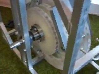 ENERGIE liBRE : moteur Perendev (aimants permanents).