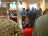Darragh MacAnthony watches as TSA does an invasive security