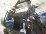Tour d'une très belle moto SUZUKI GSXR 1000 2005