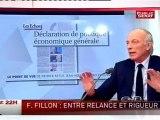 LE 22H,Georges Tron, secrétaire d'Etat chargé de la Fonction publique