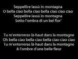 """""""Bella Ciao"""" - Le chant des partisans"""