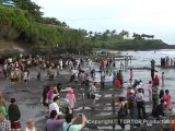 Beautiful Bali Tanah Lot holy temple Bali holiday (Full)