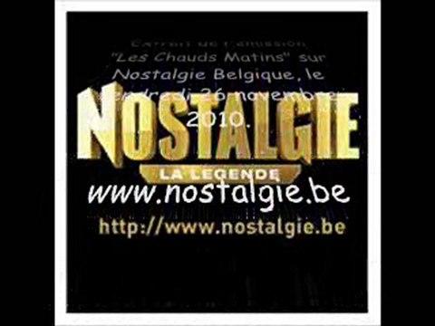 Homer et Marge sur Nostalgie Belgique le 26 novembre 2010