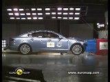 Jaguar XF Crash Tests 2010