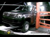 VW Amarok Crash Tests 2010