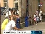 Bratislava: Hlavná stanica čaká na rekonštrukciu (20100721)