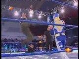 Aerostar, Extreme Tiger, Jack Evans vs Billy, Chris, Decnnis