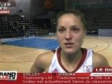 Basket LFB : Villeneuve d'Ascq - Bourges (54 à 64)