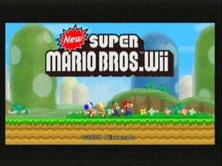 New Super Mario Bros.Wii W.T 1 Mario Luigi et Janax