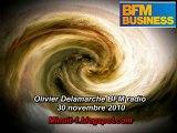 Olivier Delamarche BFM BIZZ - 30 novembre 2010 - 30/11/2010