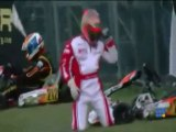 Regis fait du kart - kart will win and fail