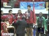 Championnats d'Afrique de tennis de table Hommes et Dames