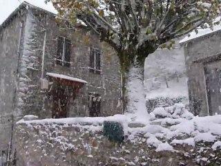 Gaudeix sous la neige de novembre 2010-P1030378