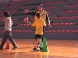 Eric Quintin et les minots aixois (Aix Handball)