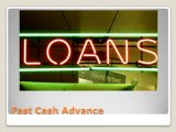 Instant Cash Loans- Faxless Payday Loans- Fast Cash Advance