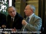 Jacques Delors Europe et dettes souveraines