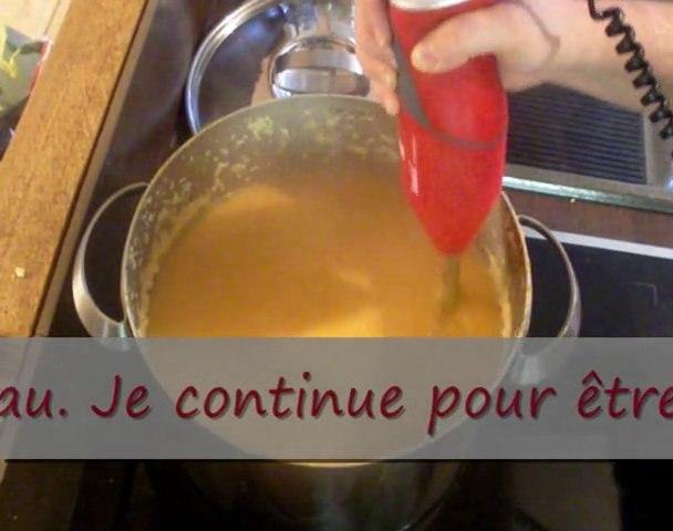 BAMIX - Test du Bamix - Mixer une soupe