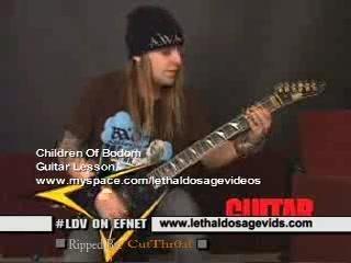 Alexi Laiho - Guitar World Lesson