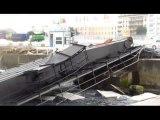 Accident sur la Passerelle N°3 à Cherbourg