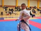 Coupe de cambrai de karaté : une démonstration de katas