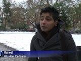 GB: les transports partiellement paralysés par la neige