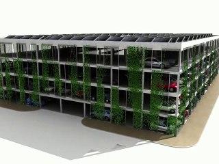 Reconversion d'un parking silo en immeuble de logements