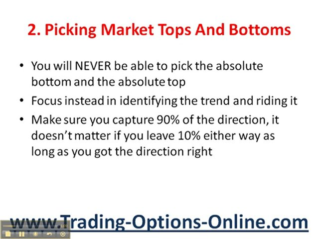 Trading Options Online: How To Avoid Losing Money