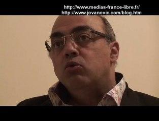 Pierre Jovanovic Journaliste l'origine de la crise Partie 1