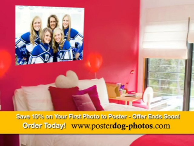 Poster Printing Los Angeles – Save 10% with PosterDog!