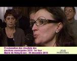 Noisy-le-Sec : Elections municipales 2010 soirée 1er tour