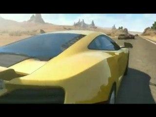 Trailer Environnements de Test Drive Unlimited 2