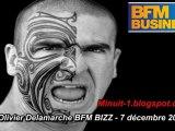Olivier Delamarche BFM BIZZ - 7 décembre 2010 - 7/12/2010