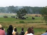 Gettysburg Civil War Reenactment: skirmishes, troop